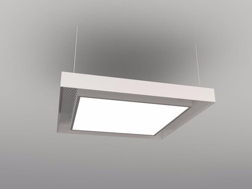 Hanging acoustic panel / pendant lamp NCM LA S600-900-1200SA | Pendant lamp by Neonny