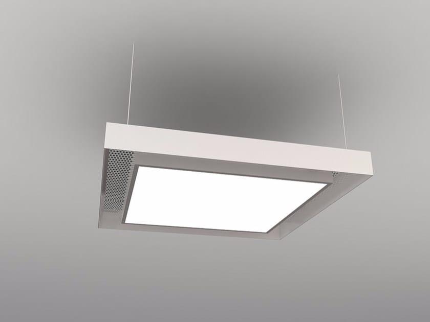 Pannello acustico a sospensione / lampada a sospensione NCM LA S600-900-1200FA | Lampada a sospensione by Neonny
