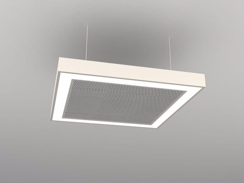 Hanging acoustical panel / pendant lamp NCM LA S600-900-1200FB   Pendant lamp by Neonny