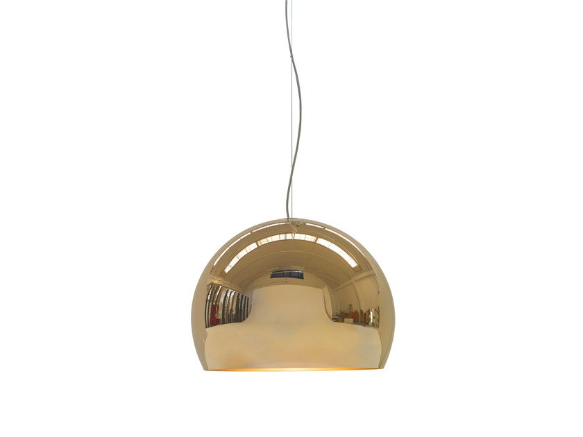 Direct light steel pendant lamp lalampada mirror pendant lamp by opinion ciatti