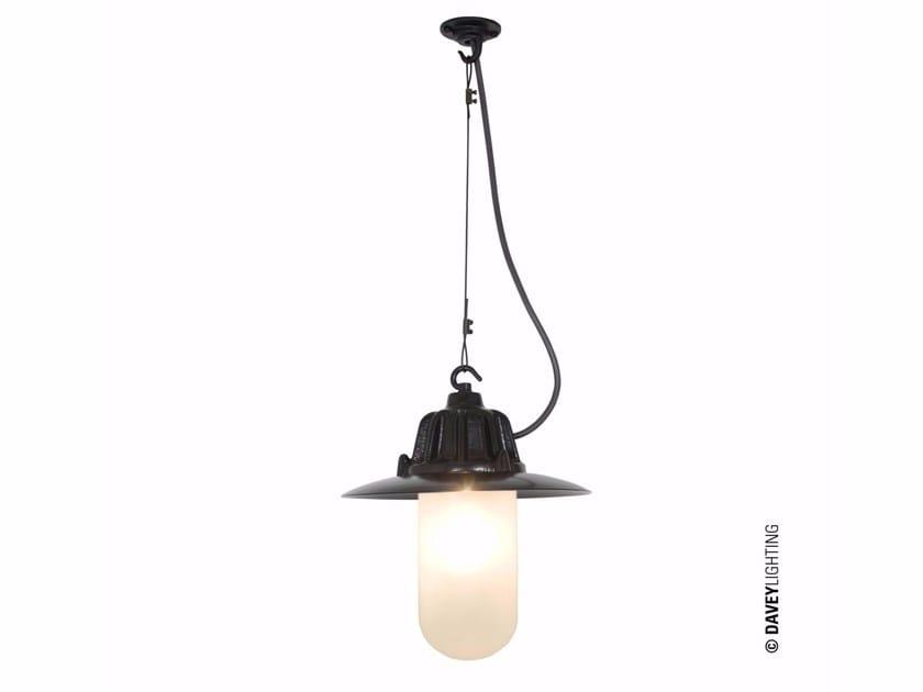 Glass and aluminium pendant lamp DP7675 | Pendant lamp by Original BTC