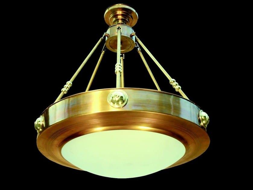 Handmade brass chandelier NEW YORK I | Chandelier by Patinas Lighting