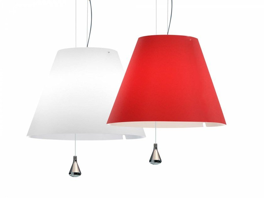 LED adjustable polycarbonate pendant lamp LADY COSTANZA | Pendant lamp by LUCEPLAN