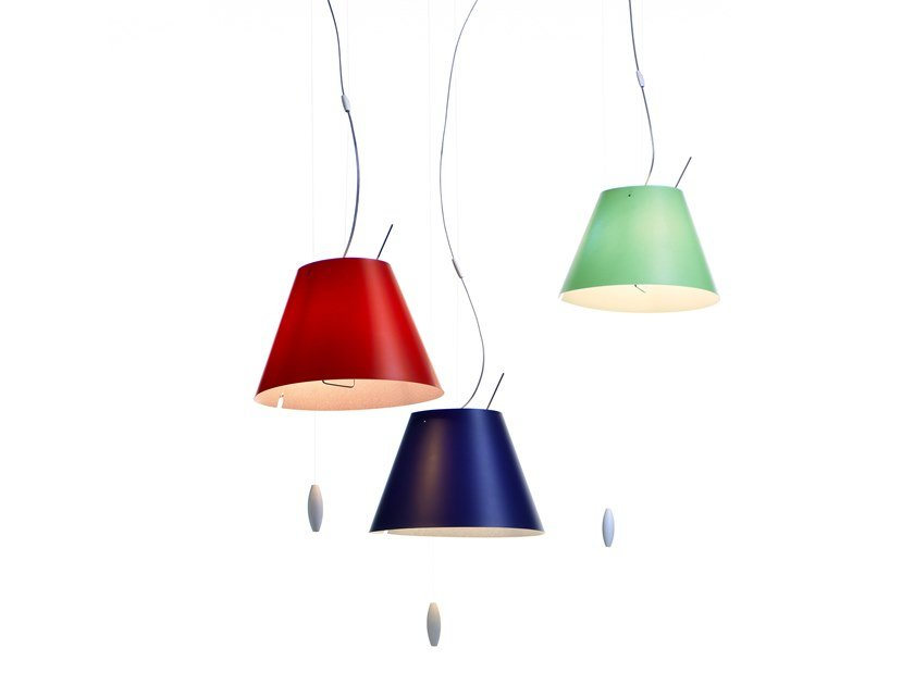 LED polycarbonate pendant lamp COSTANZINA | Pendant lamp by LUCEPLAN