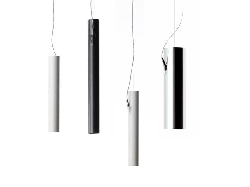 LED extruded aluminium pendant lamp E04 | Pendant lamp by LUCEPLAN