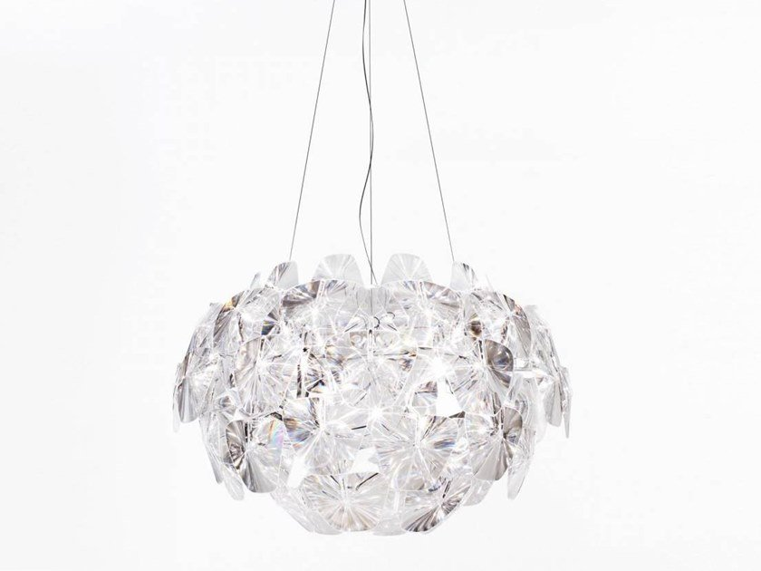 LED direct-indirect light polycarbonate pendant lamp HOPE | Pendant lamp by LUCEPLAN