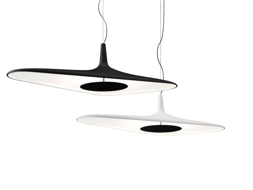Lampada a sospensione a LED in schiuma poliuretanica SOLEIL NOIR | Lampada a sospensione by LUCEPLAN