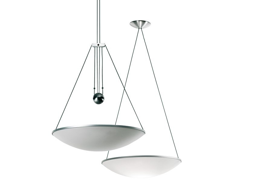 LED adjustable polycarbonate pendant lamp TRAMA | Pendant lamp by LUCEPLAN