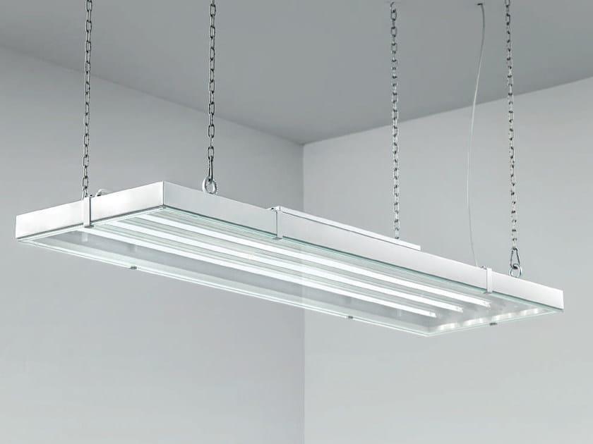 LED direct light steel pendant lamp COOL | Pendant lamp by PLEXIFORM