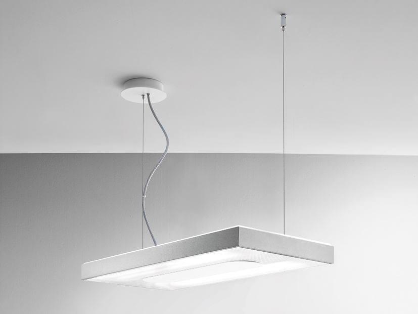Aluminium pendant lamp LINEA | Pendant lamp by Quadrifoglio