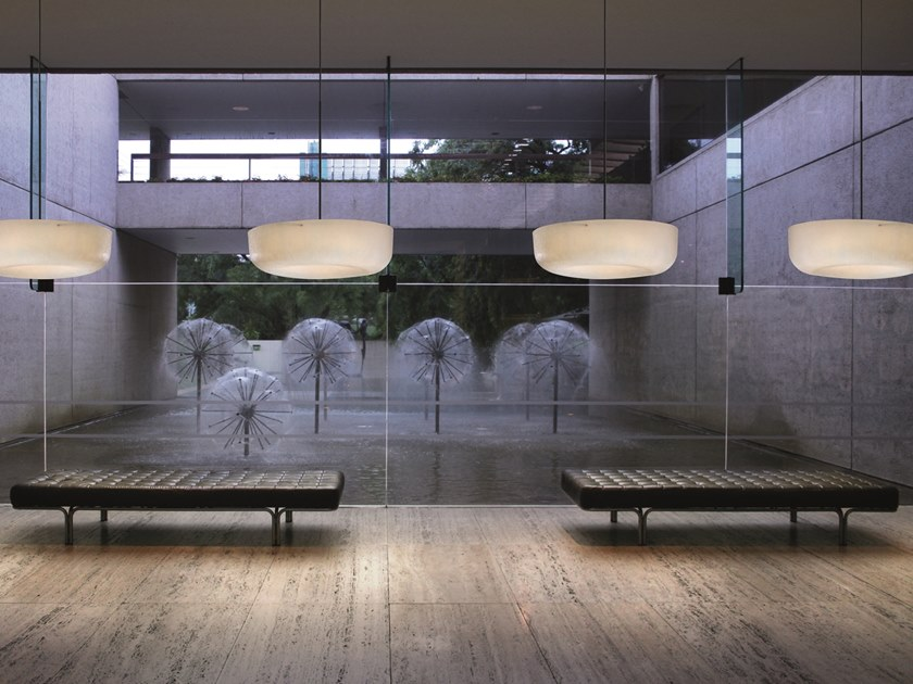 Glass-fibre pendant lamp OLA FLY | Pendant lamp by Quadrifoglio