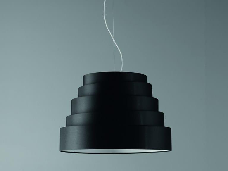 Fabric pendant lamp BABEL | Pendant lamp by Quadrifoglio