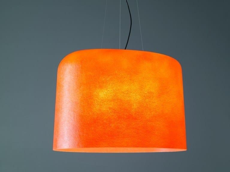 Glass-fibre pendant lamp OLA   Pendant lamp by Quadrifoglio