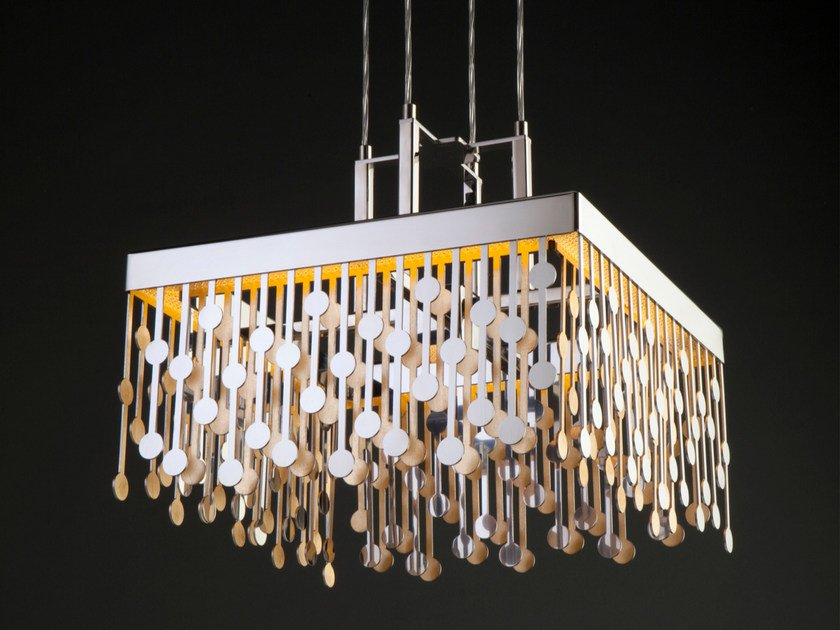 Stainless steel pendant lamp MELODY | Pendant lamp by Quasar