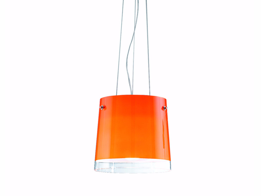Direct light blown glass pendant lamp SHARON | Pendant lamp by ROSSINI