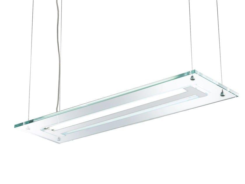 Lampada a sospensione in Pyrex® ACABA | Lampada a sospensione by ROSSINI