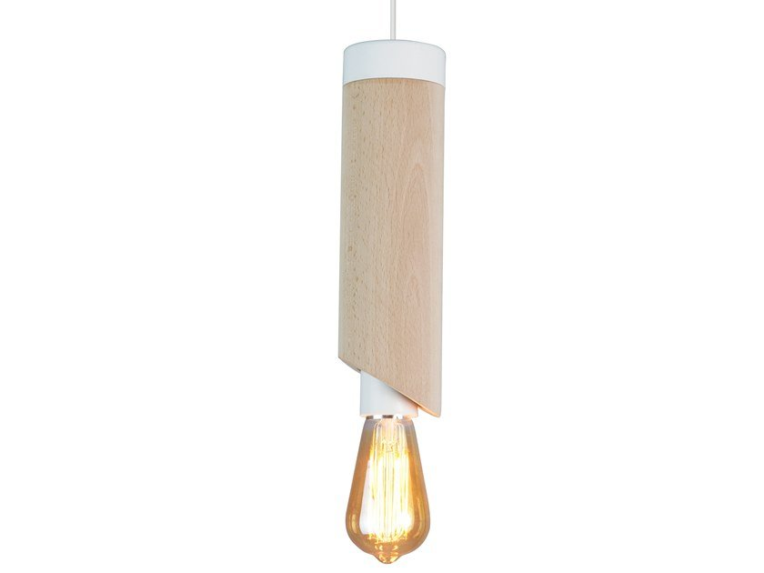 Wooden pendant lamp PIMS | Pendant lamp by LUZ EVA