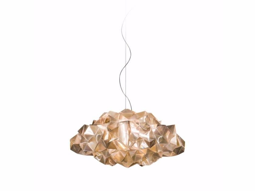 Lampada a sospensione a LED in Lentiflex® DRUSA | Lampada a sospensione by Slamp