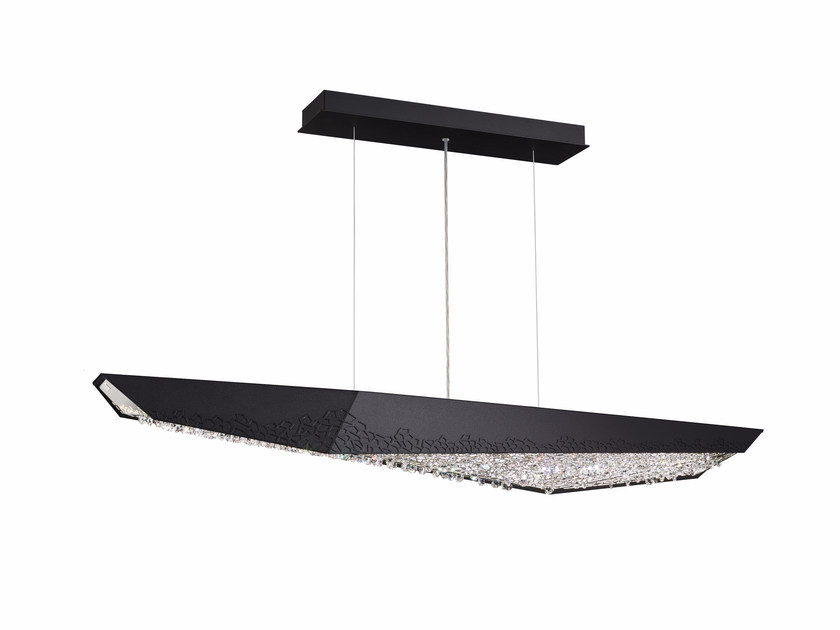 LED pendant lamp with Swarovski® Crystals GLYPH | Pendant lamp by Swarovski