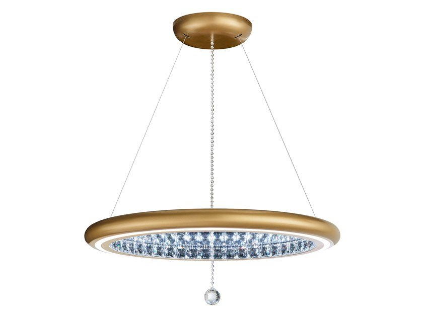 Pendant lamp with Swarovski® Crystals INFINITE AURA | Pendant lamp by Swarovski