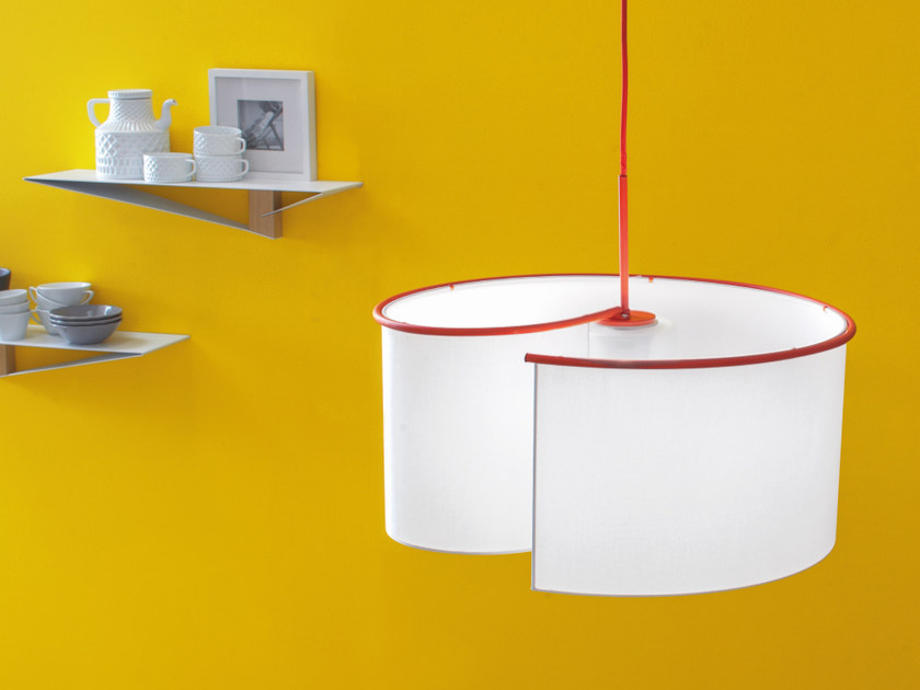 Fabric pendant lamp AGO E FILO | Pendant lamp by Tonin Casa