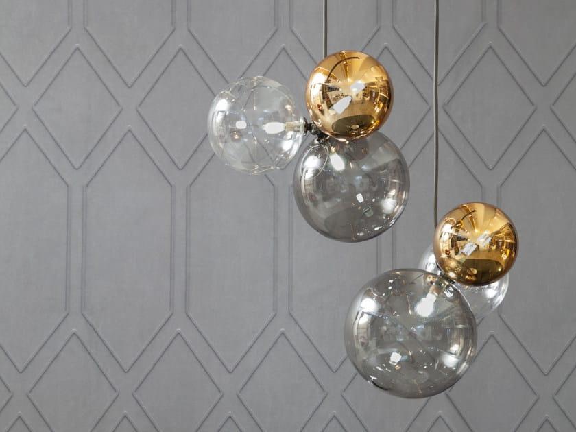 LED glass pendant lamp ATOMO | Pendant lamp by Tonin Casa