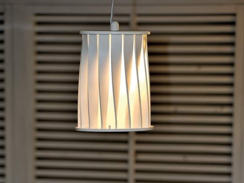 Aluminium pendant lamp ATON   Pendant lamp by Unopiù
