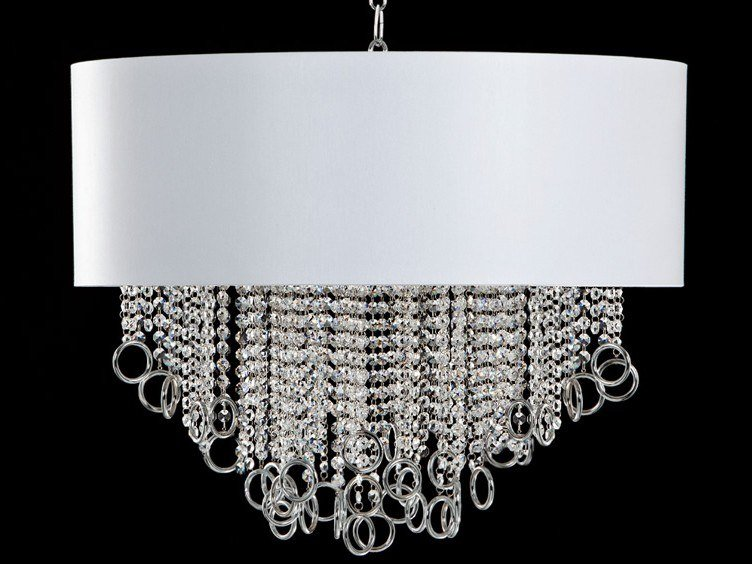 Pendant lamp with crystals LISA   Pendant lamp with crystals by Aiardini