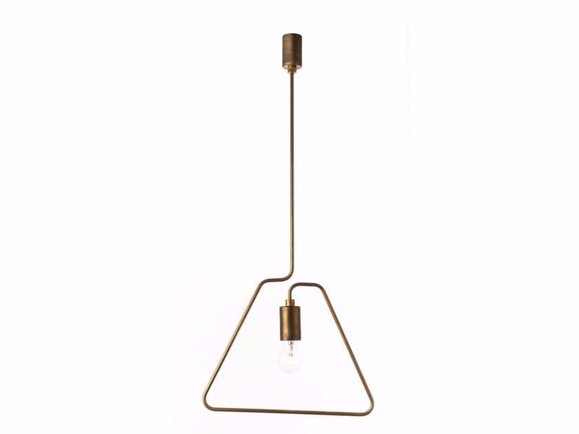 Direct light metal pendant lamp A-SHADE | Pendant lamp by ZAVA