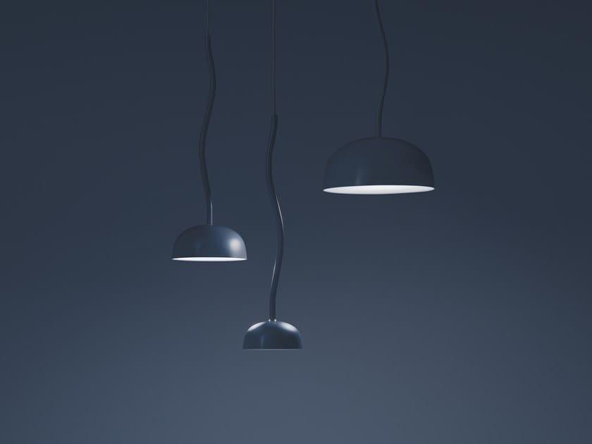 LED metal pendant lamp CURVE | Pendant lamp by ZERO