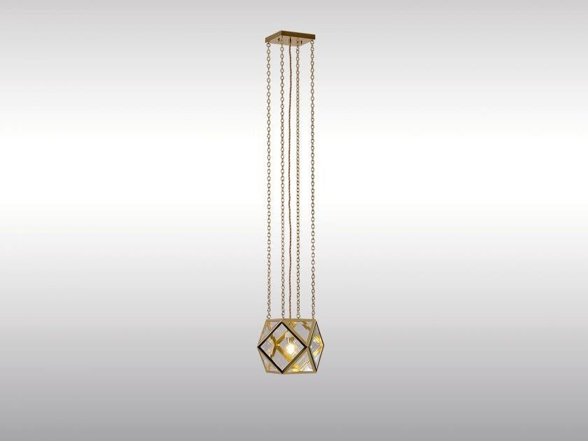 Classic style pendant lamp PENDENLAMPE by Woka Lamps Vienna