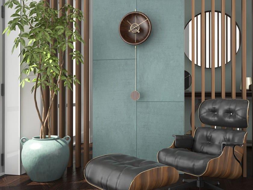 Pendulum wall-mounted clock SHAPE | Pendulum clock by Materium