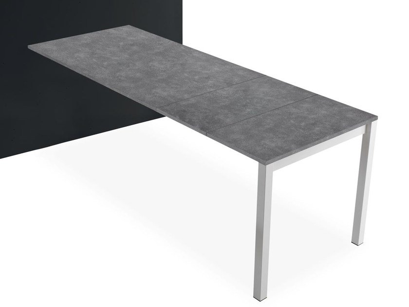 Extending peninsula table PENISOLA | Peninsula table by Pointhouse