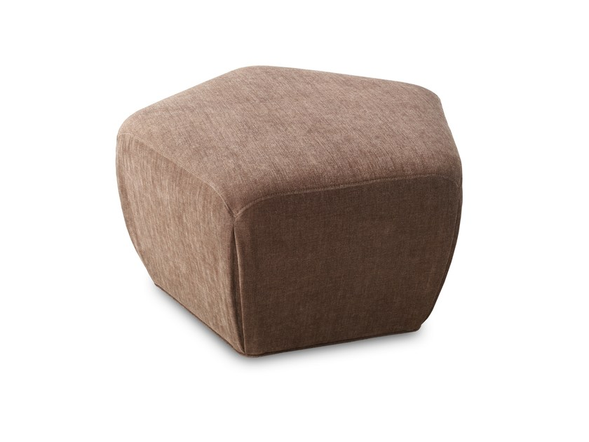 Fabric pouf PENTAGONO | Fabric pouf by JORI