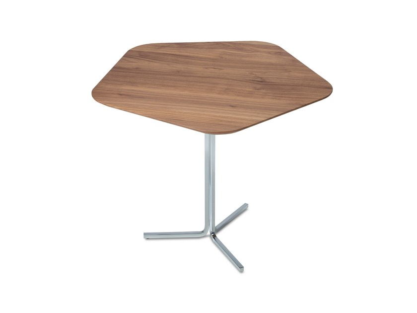 Wooden side table PENTAGONO | Side table by JORI