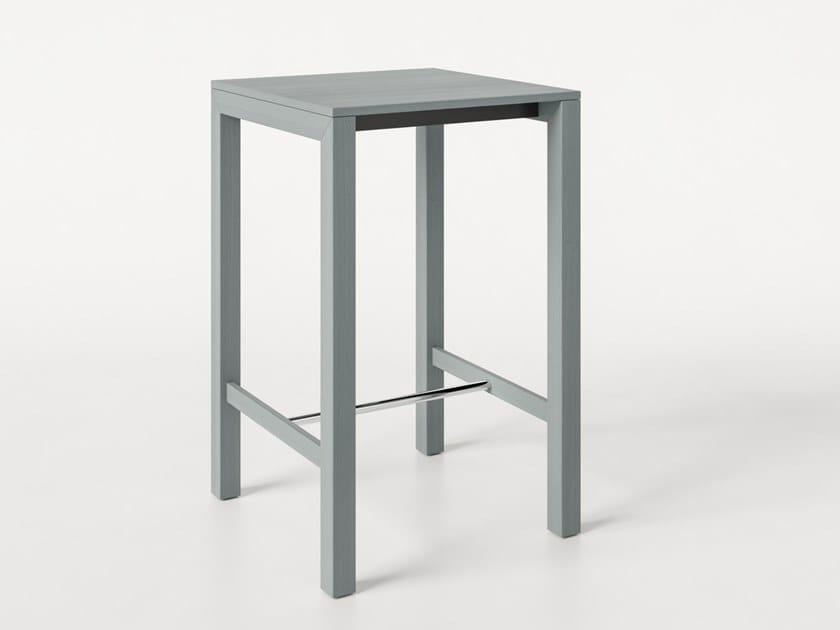 Tavolo alto quadrato in frassino PEPER   Tavolo quadrato by Albaplus