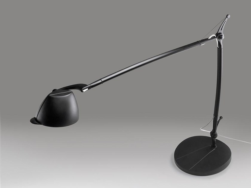 Led With Swing Arm Desk Lamp Perceval 6532 By Milan Iluminacion