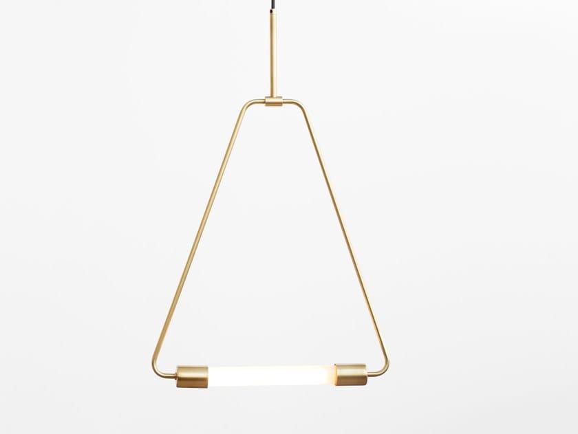 LED direct light pendant lamp PERCHOIR by Lambert & Fils