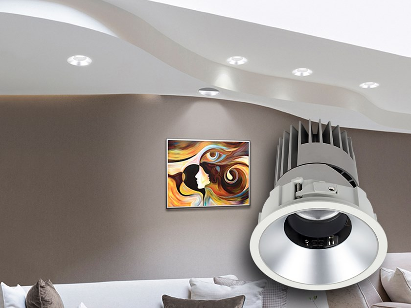 LED adjustable recessed spotlight PERFORMANCE by Proled