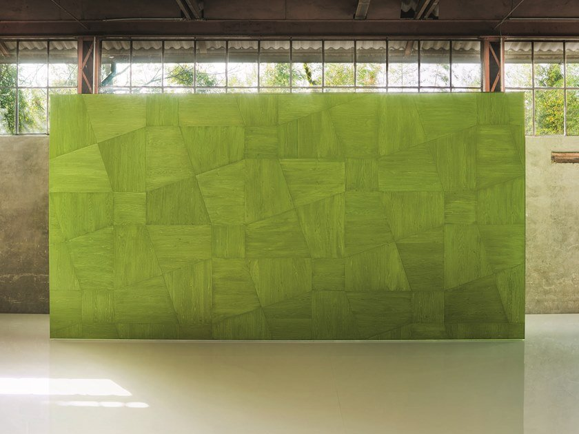 Wooden wall/floor tiles PERIGAL by paola lenti