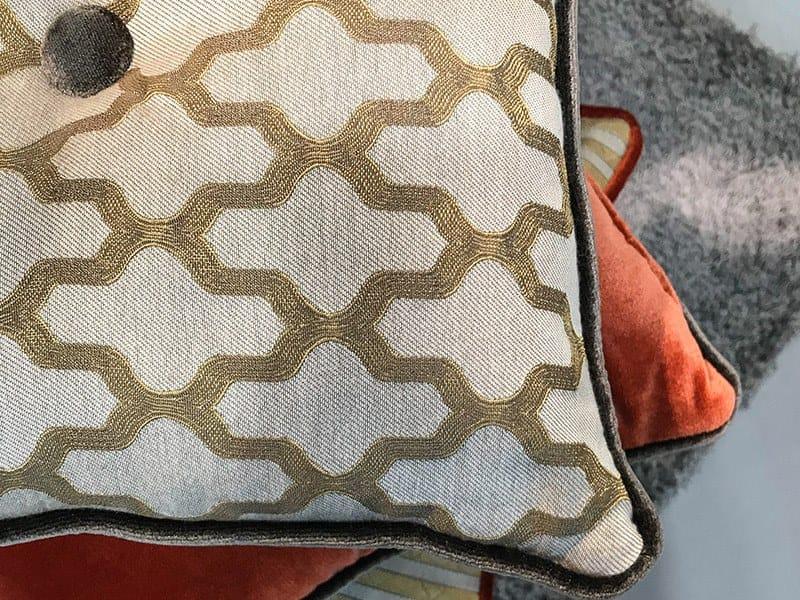 Jacquard fabric with graphic pattern PERLAIN MORESCO by l'Opificio