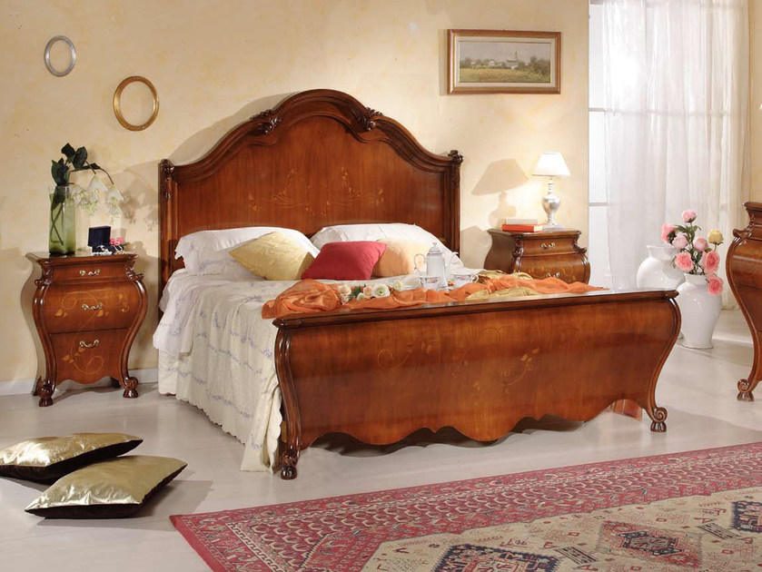 Solid wood double bed PERSIA | Solid wood bed by Arvestyle