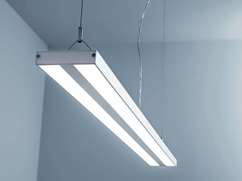 Led polycarbonate pendant lamp pesos by rossini illuminazione