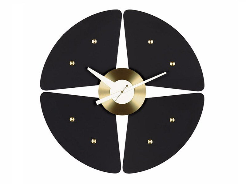 Wall-mounted clock PETAL CLOCK by Vitra