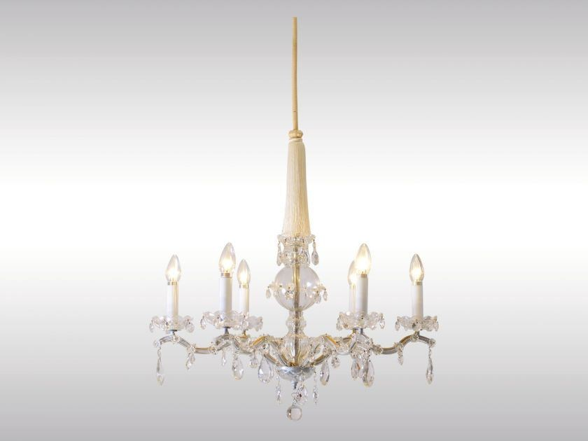 Classic style crystal chandelier PETIT CHANDELIER by Woka Lamps Vienna