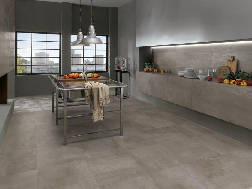 Full-body porcelain stoneware wall/floor tiles PETITOT SILEX by NOVOCERAM