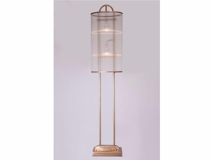 Direct light handmade brass floor lamp PETITOT II | Brass floor lamp by Patinas Lighting