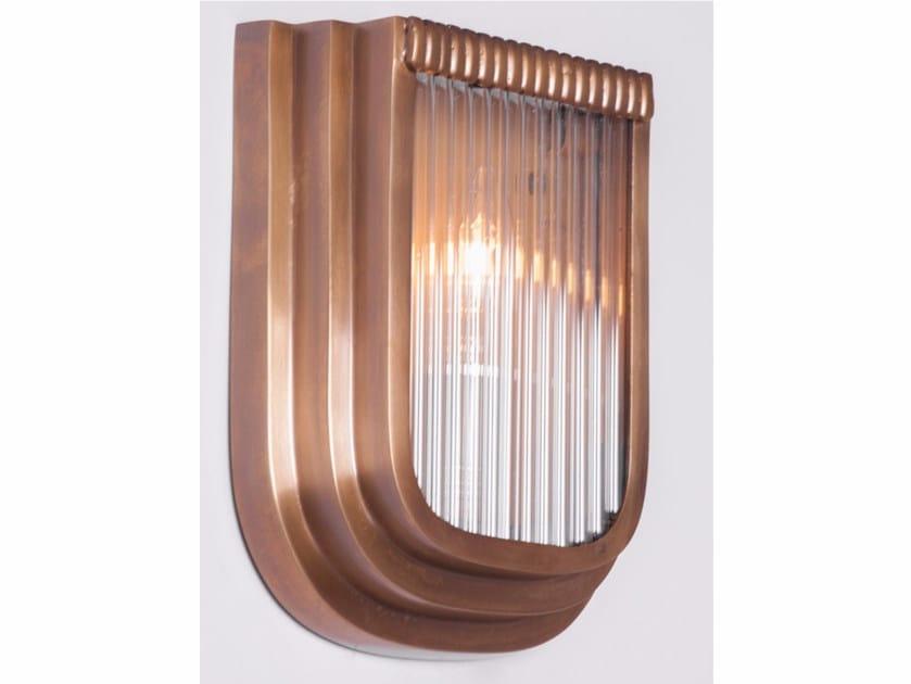 Direct light handmade brass wall light PETITOT X | Wall light by Patinas Lighting