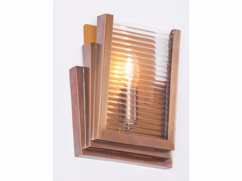 Direct light handmade brass wall light PETITOT XI | Wall light by Patinas Lighting