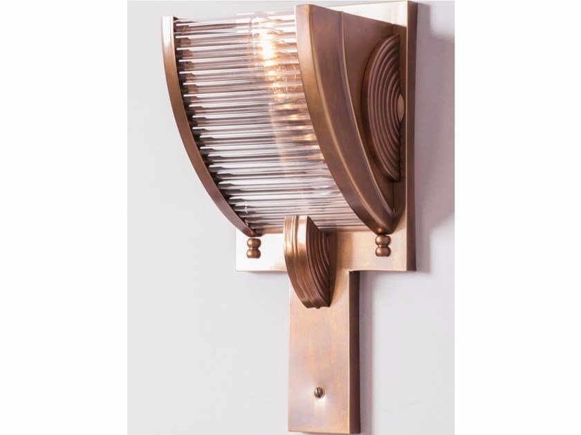 Direct light handmade brass wall light PETITOT XIV | Brass wall light by Patinas Lighting